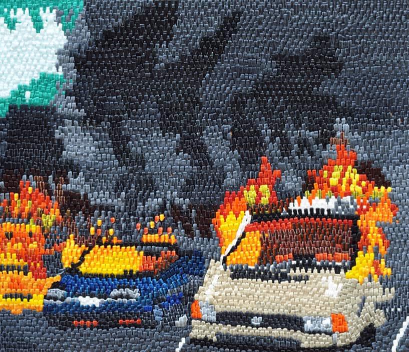 Car Park Fire, 2012