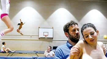 Naked trampoline world championship