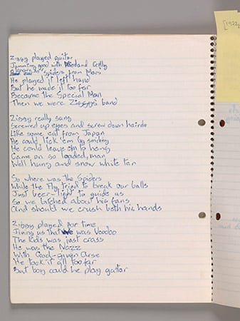 Original lyrics for