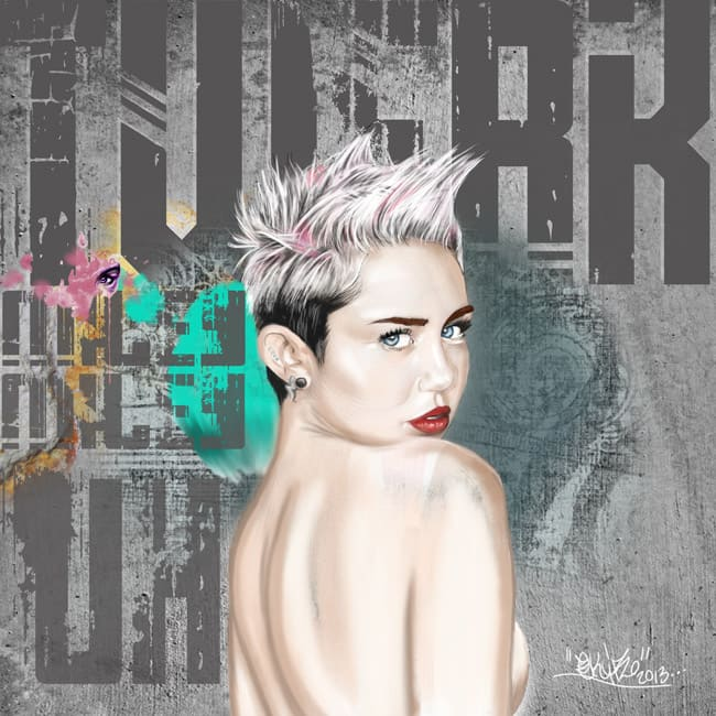Twerk Miley Miley Uh, 2013