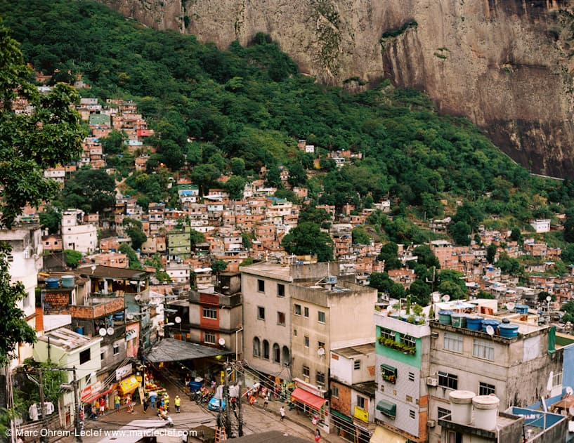 View from Laboriaux towards Rocinha, 2013