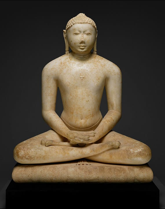 Jain Svetambara Tirthankara in Meditation, first half of the 11th century