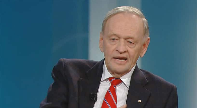 """EXCLUSIVE: Chrétien On Canadian Politicians: """"There's No More Honest Political Class In The World"""""""
