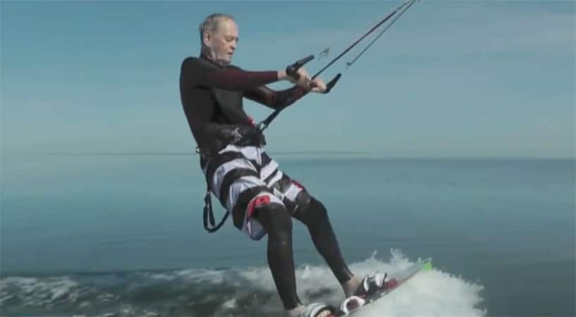 EXCLUSIVE: Jean Chrétien Tells George About Kitesurfing At Age 79