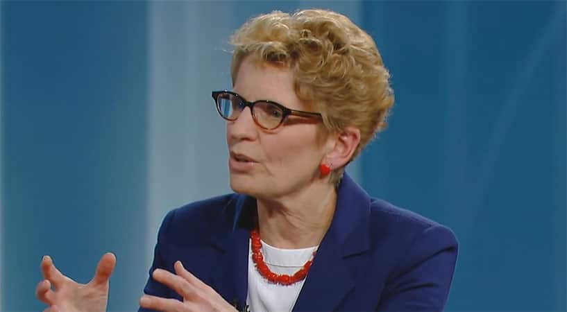"Kathleen Wynne: ""I Am Not Interested In Attacking Human Beings"""