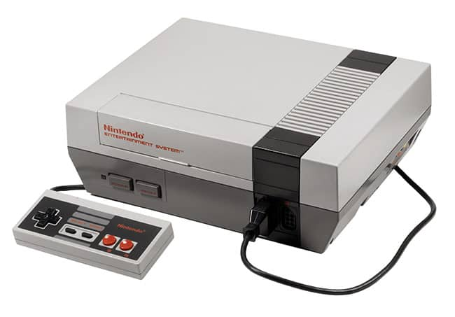 The Nintendo Entertainment System (1983)