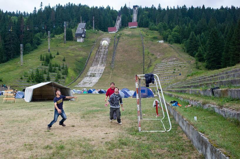 Igman Olympic Ski Jumps, Sarajevo