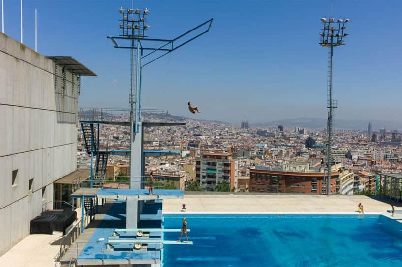 Montjüic High Dive, Barcelona