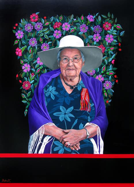 Portrait of Rose Fleury, 2013