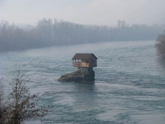 Small home built in middle of Drina River.jpg
