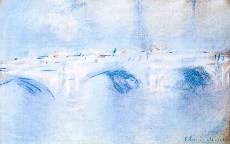 Waterloo Bridge, London by Claude Monet
