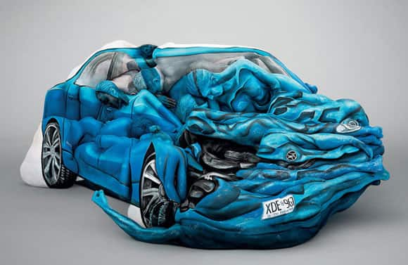 George Stroumboulopoulos Tonight Driven To Art These - Cool painted cars