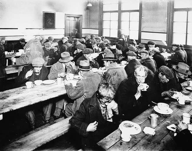 soup kitchens during the great depression babe,