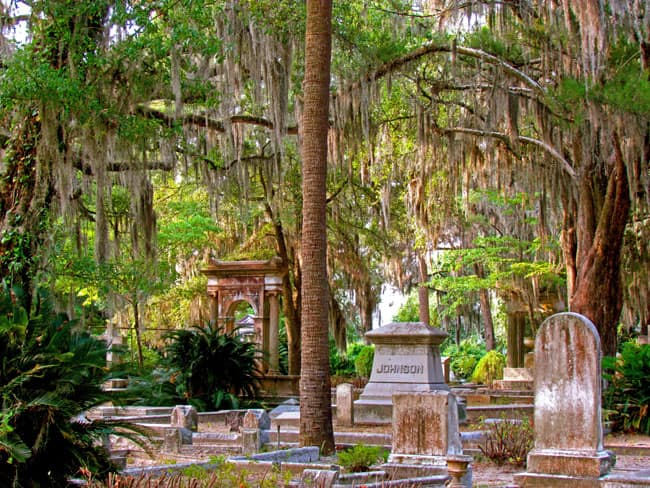Bonaventure Cemetery, Savannah, U.S.A.