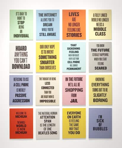Slogans for the Early Twenty-First Century