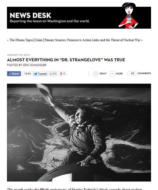 Almost Everything In 'Dr. Strangelove' Was True