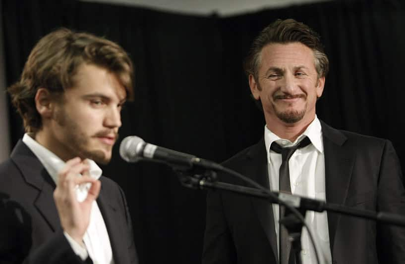 Sean Penn — Emile Hirsch