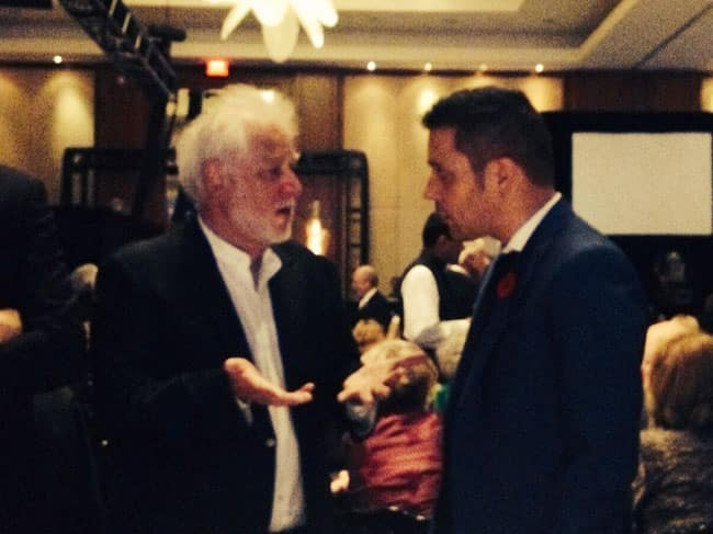 Michael Ondaatje and George