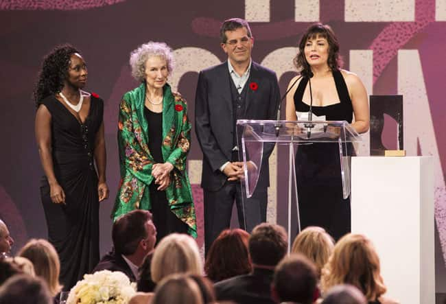 Lynn Coady with the 2013 jury