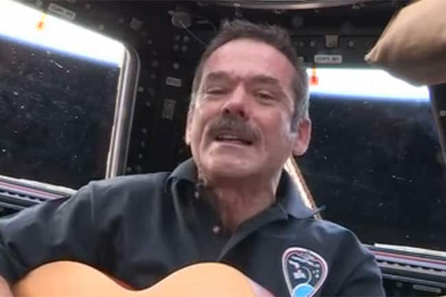 Astronaut Chris Hadfield & Barenaked Ladies Ed Robertson's Song From Space Premieres Across Canada