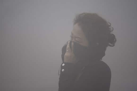 Incredible Photos Of The Record Smog Day In The Northern Chinese City Of Harbin