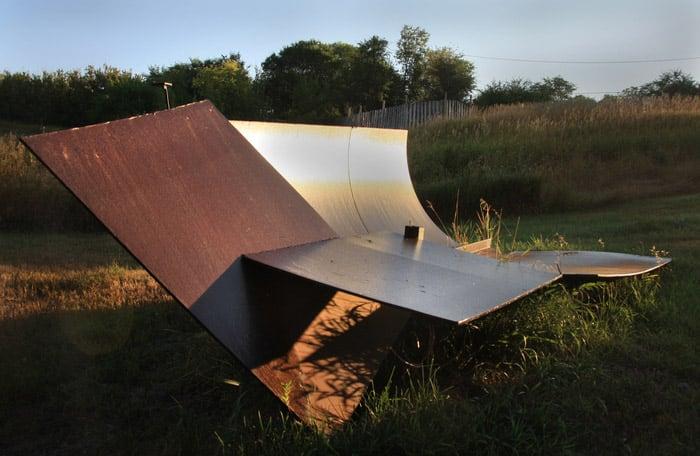 Nugent's sculpture garden