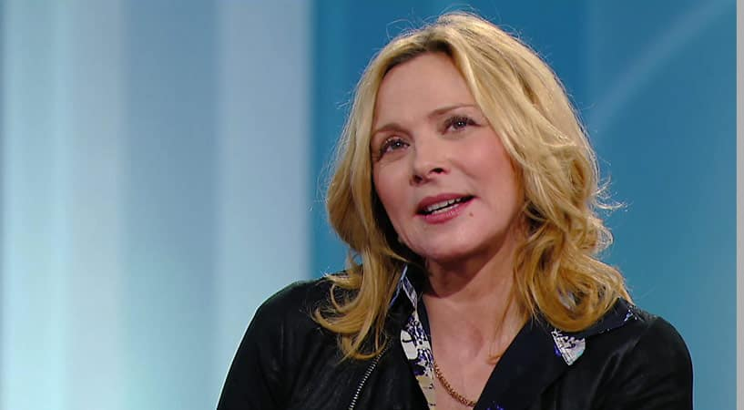 Kim Cattrall On The Time She Tried To Sing Backup For Lou Reed