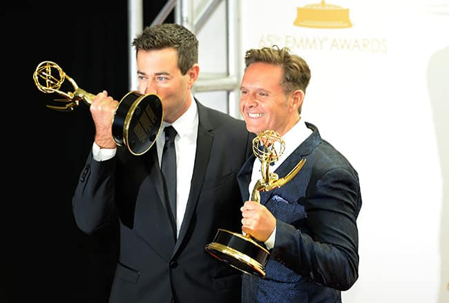 Carson Daly with Mark Burnett