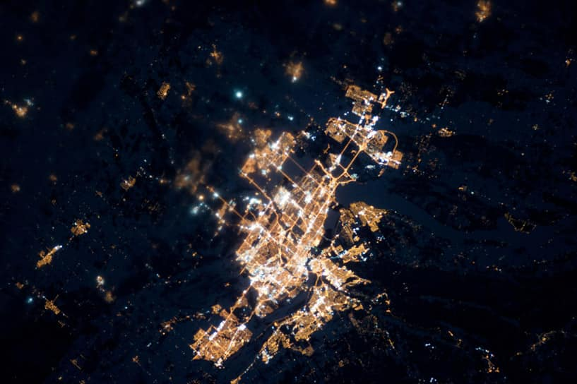 Canada's Cities At Night, Through The Eyes Of Astronauts