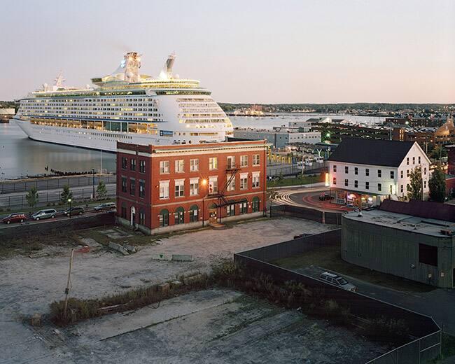 Cruise Ship, Portland ME, 2009