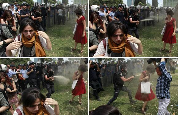 turkey-tear-gas-red-dress.jpg