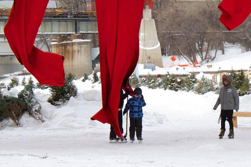 Taking shelter in Red Blanket
