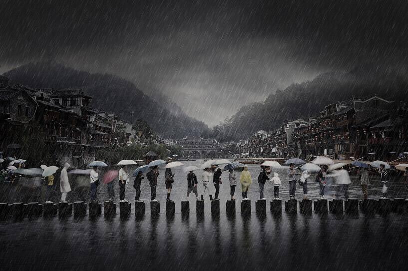 Rain in an Ancient Town (Open)