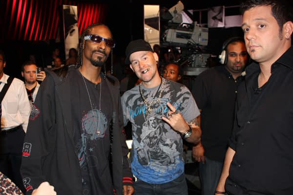 Snoop Dogg and a Fan, with Strombo on the Side