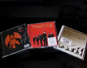 Robin Thicke CD Giveaway