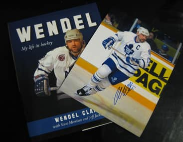 Wendel Clark Book and Photo Giveaway
