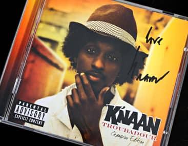 K'naan Giveaway