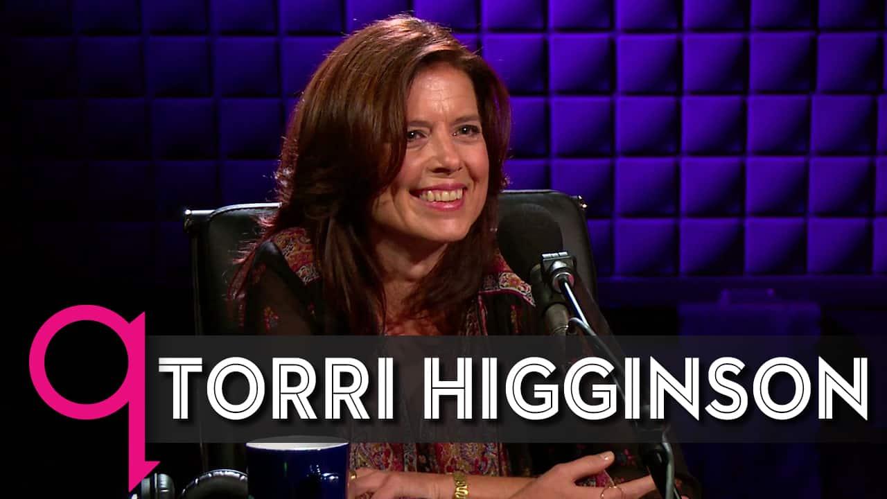 Torri Higginson Interviewed on Q