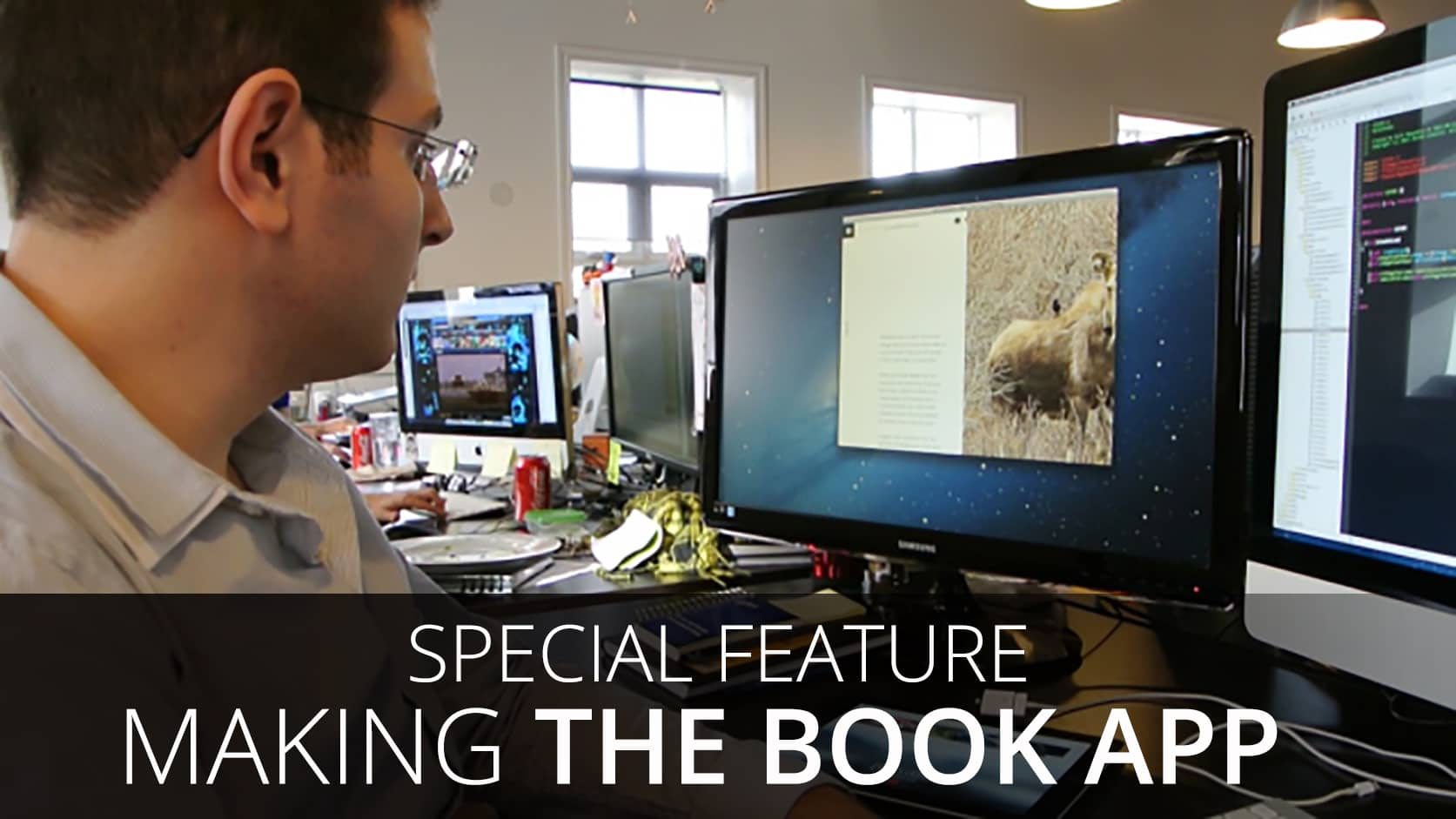 Special Feature: Making the Book App