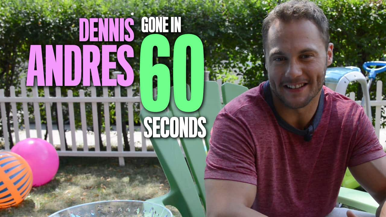Dennis Andres: Gone in 60 Seconds