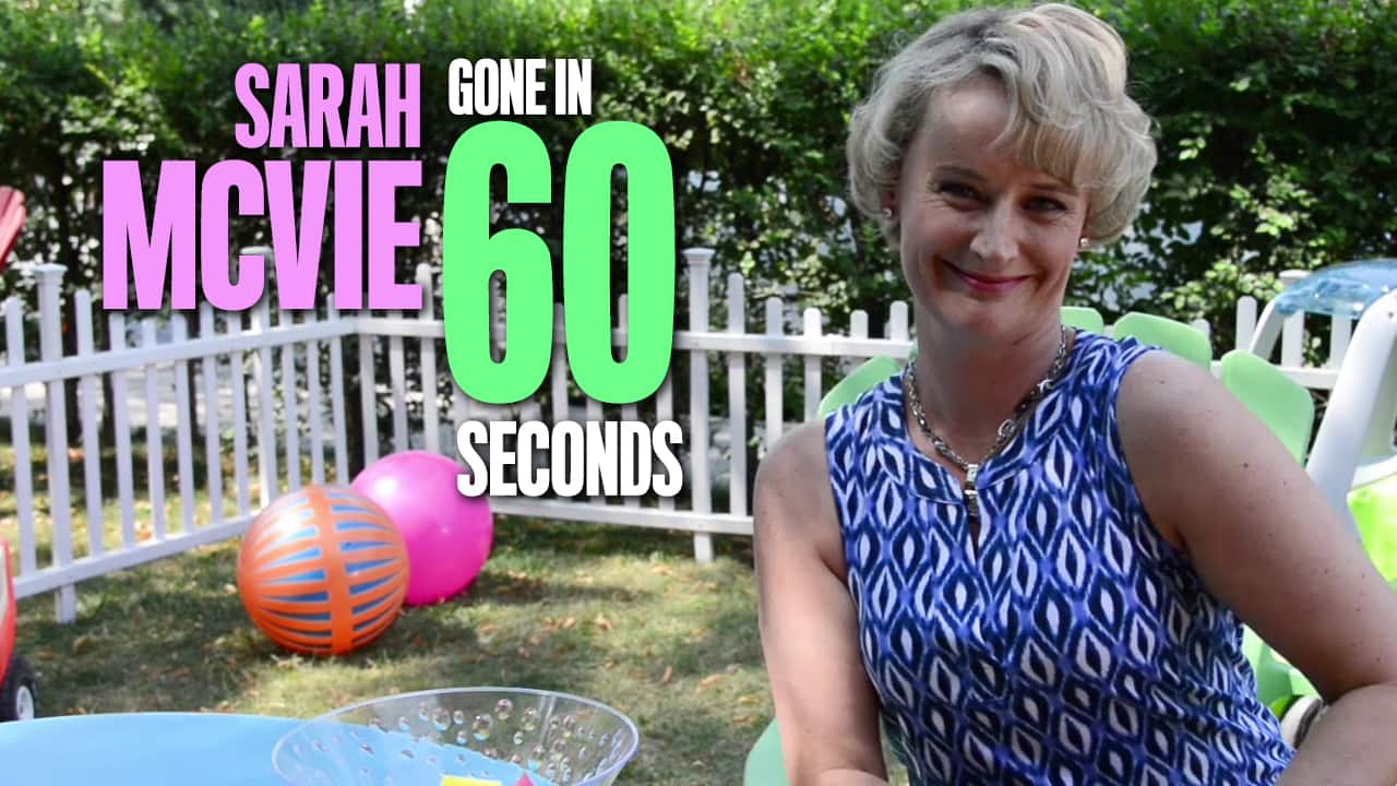 Sarah McVie: Gone in 60 Seconds