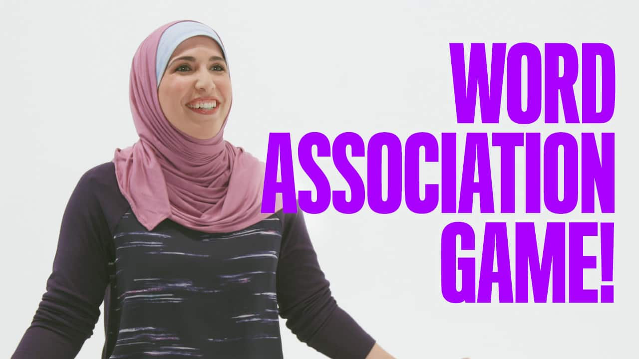 Workin' Moms Ask: Word association game!