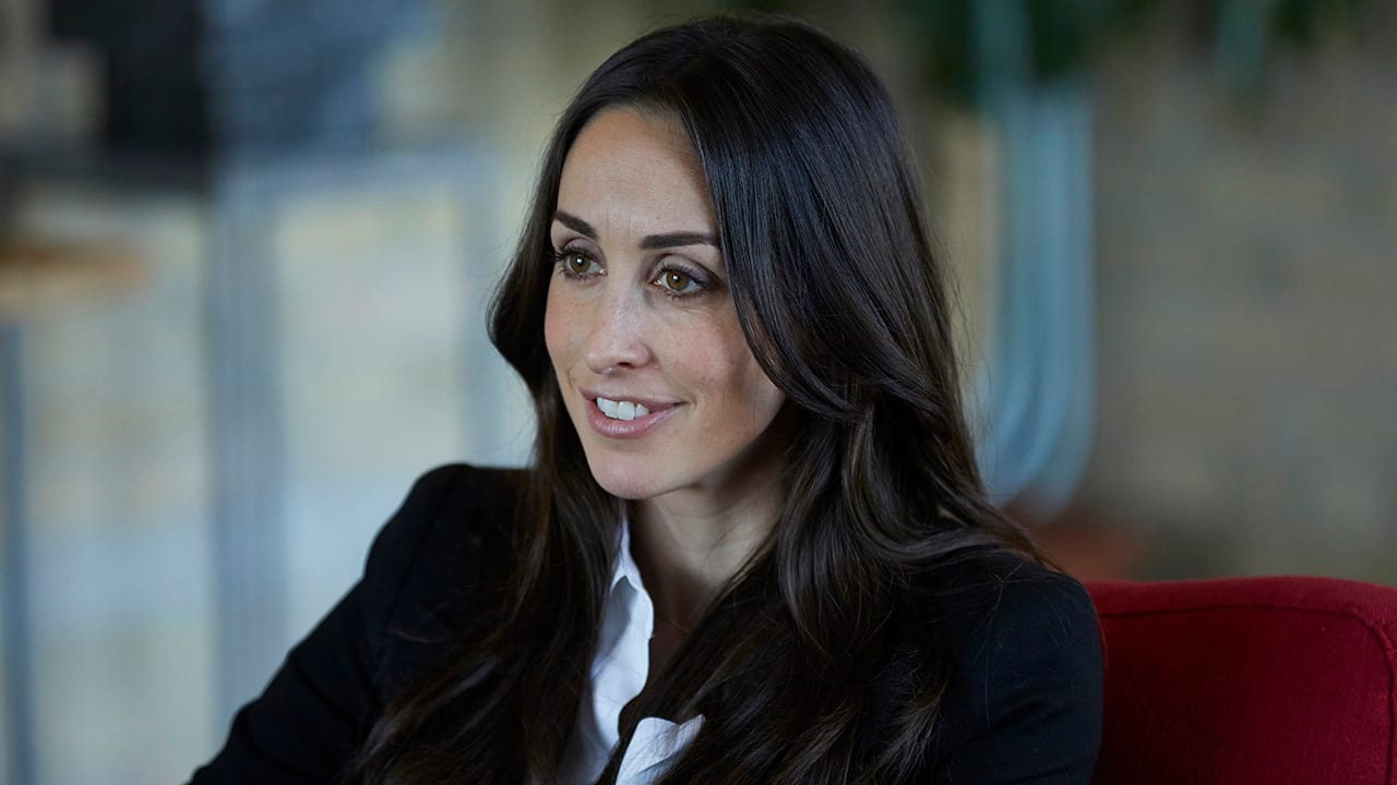 Catherine Reitman talks about Season 2 of Workin' Moms and the challenges of being a working mom