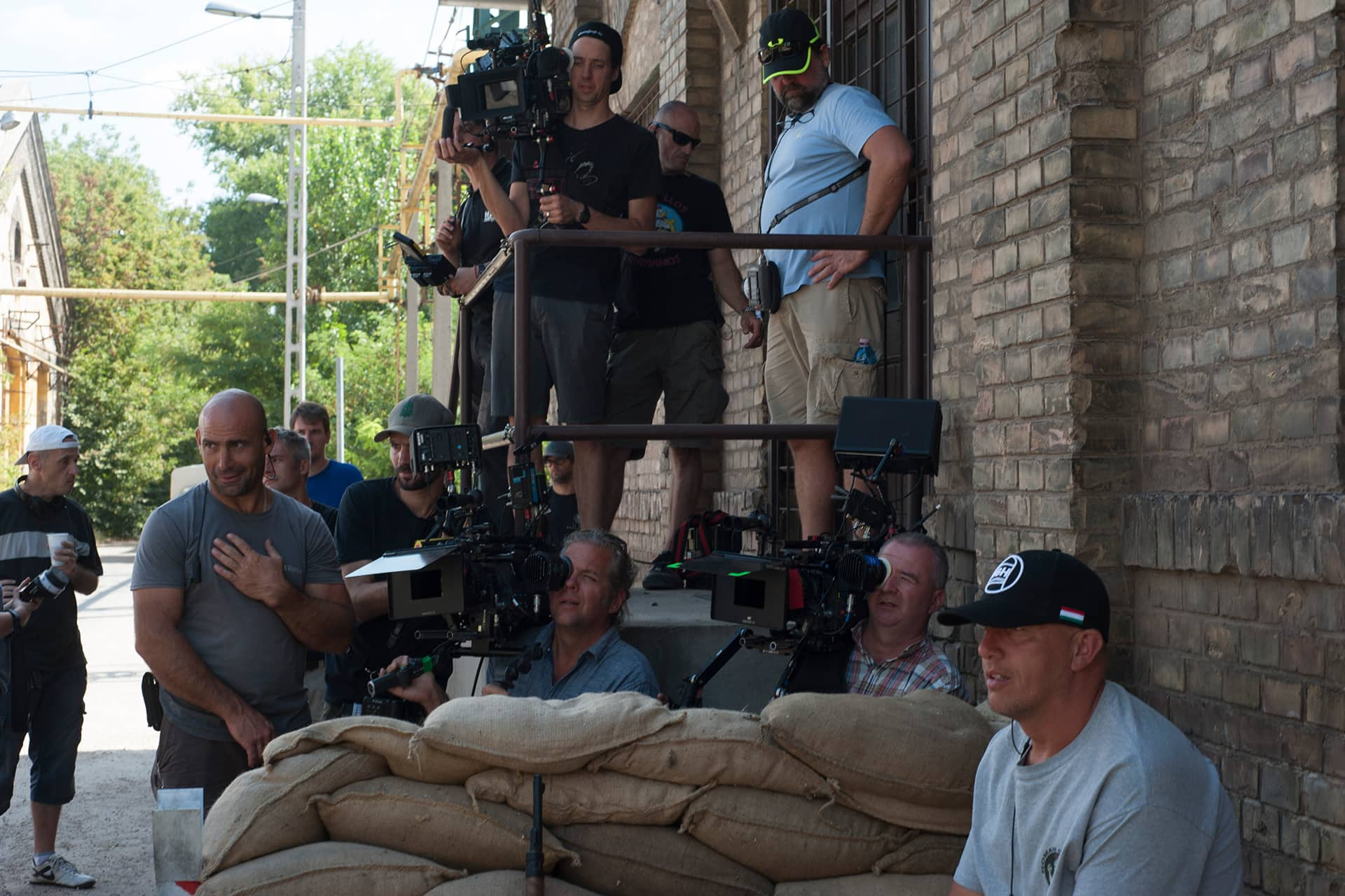 Behind the scenes on the set of X Company Season 3 with