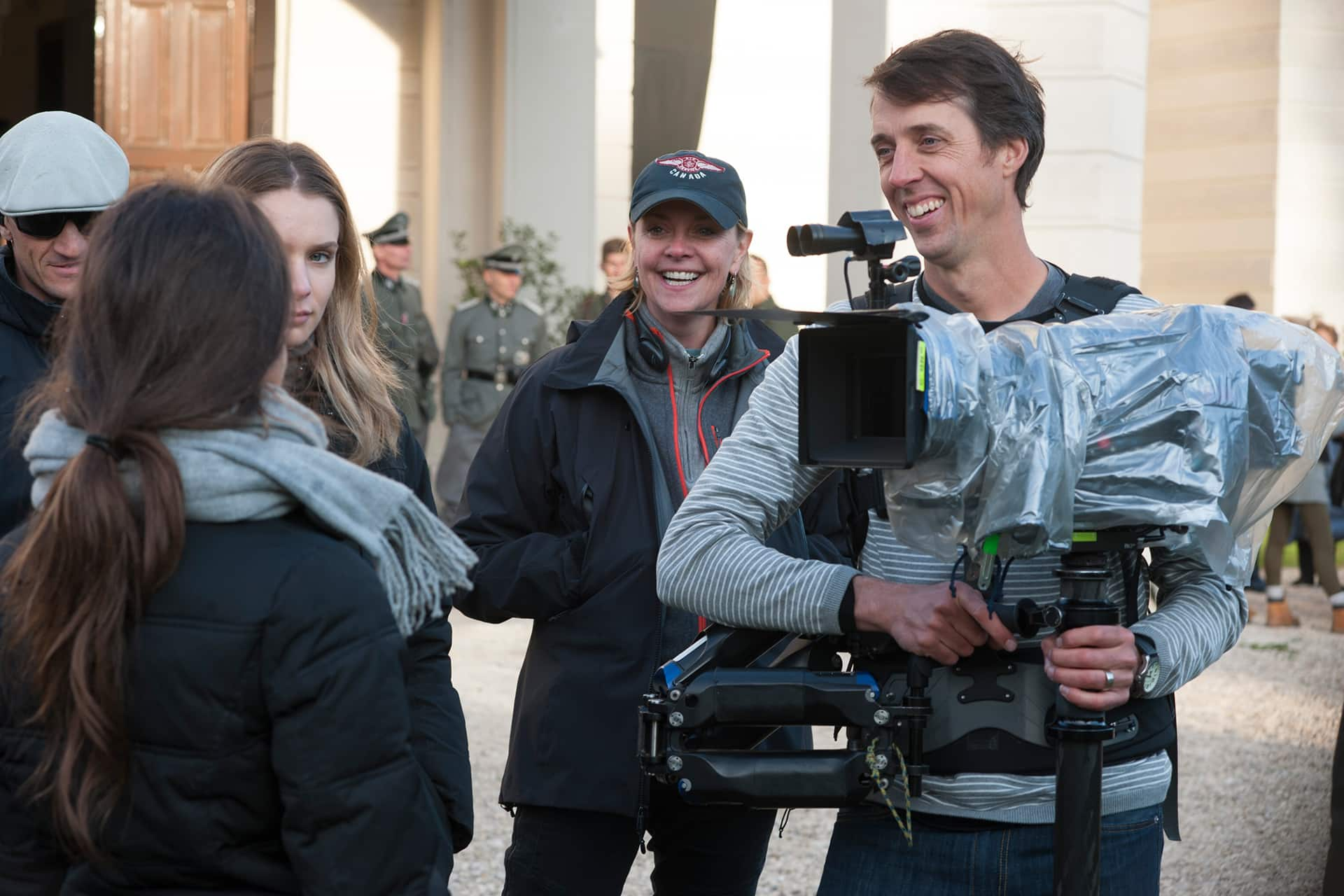 Behind the scenes on the set of X Company Season 3 with Director Amanda Tapping,