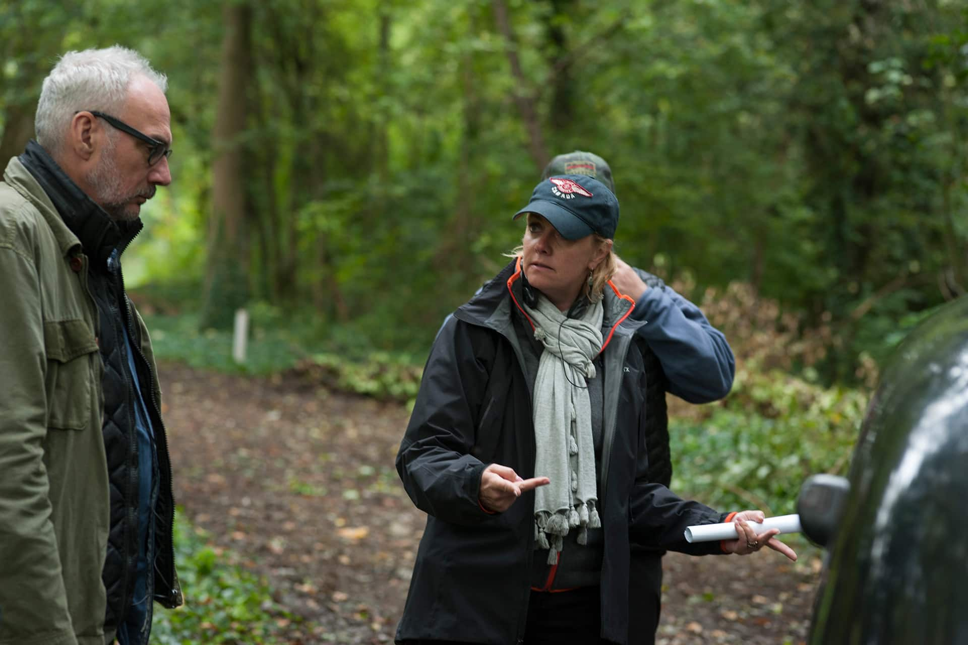 Behind the scenes on the set of X Company Season 3 with Director of Photography Michael Marshall and Director Amanda Tapping.
