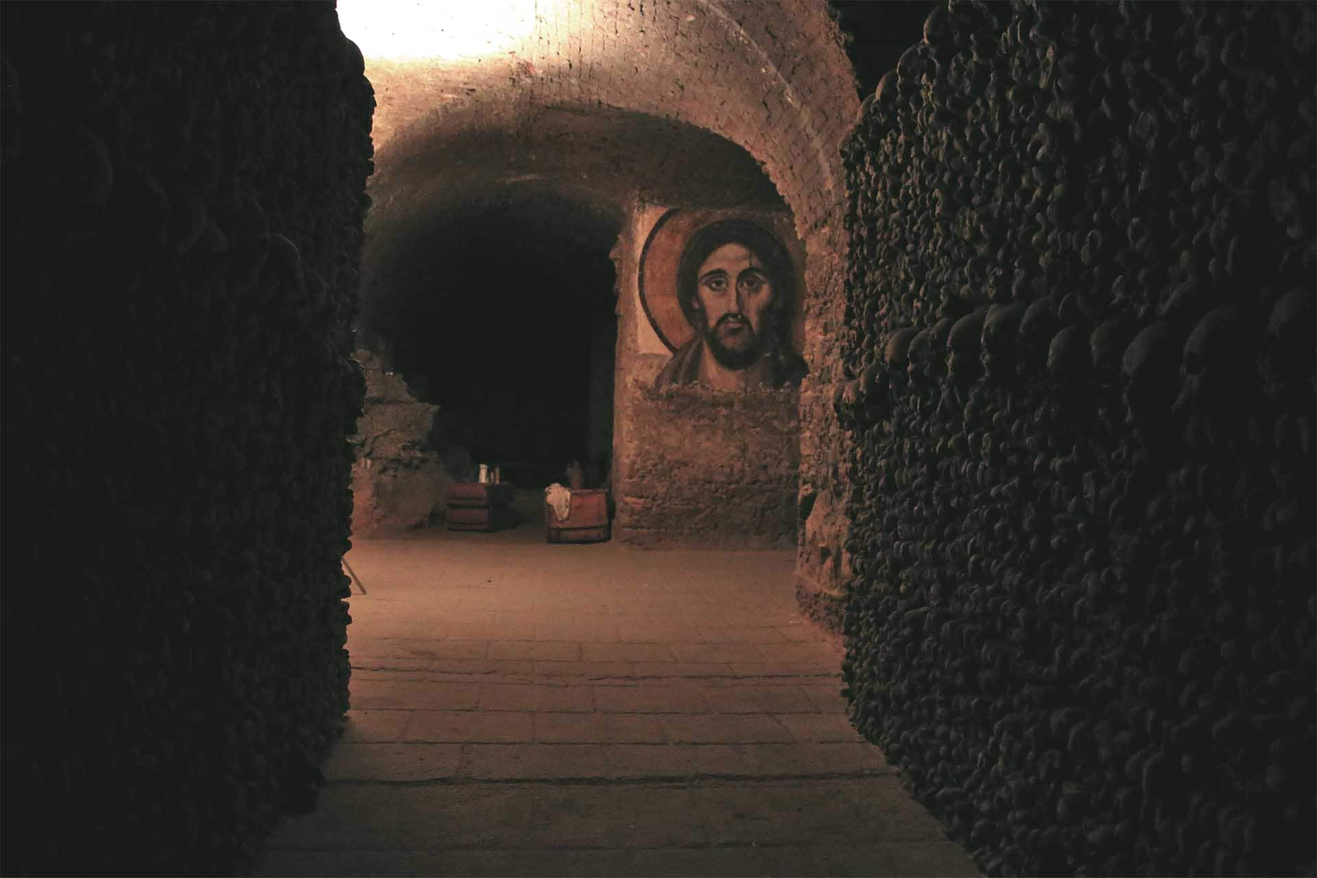 Paris Catacombs -  rendezvous location for the team.