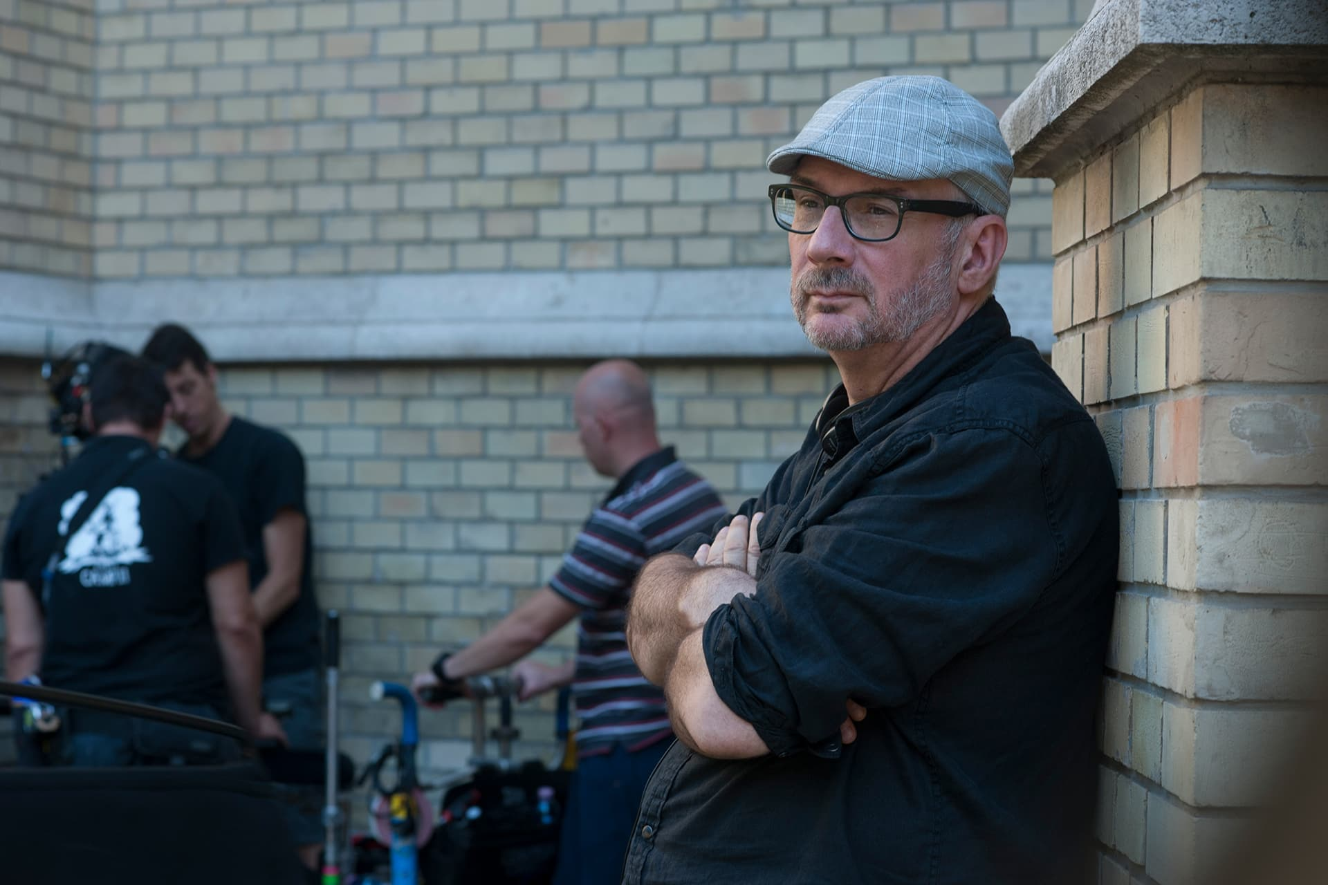 Director of Photography Michael Marshall on the set of X Company Season 3, filming in Budapest, Hungary.