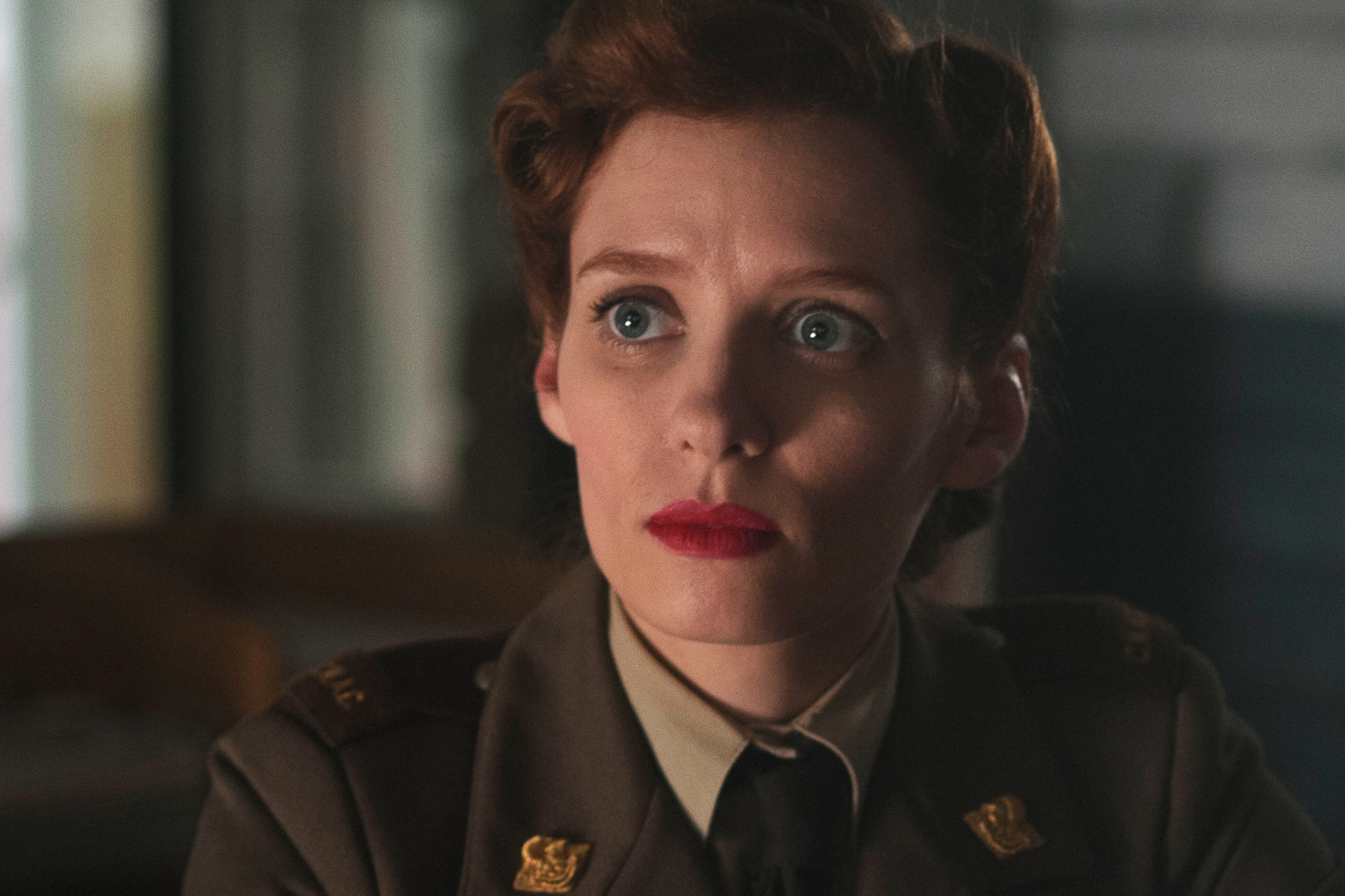 From Season 2, Lara Jean Chorostecki as Krystina Breeland.